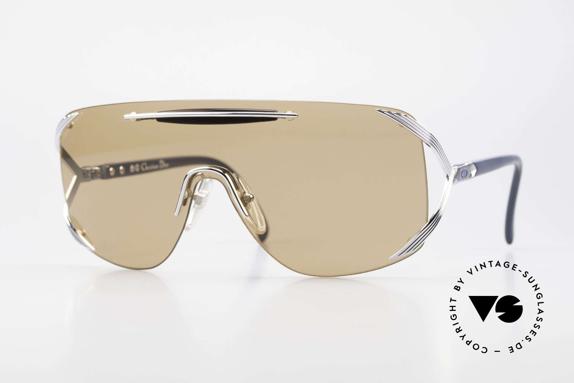 Christian Dior 2434 Panorama View Sunglasses 80s, vintage DIOR designer sunglasses from 1989/1990, Made for Women
