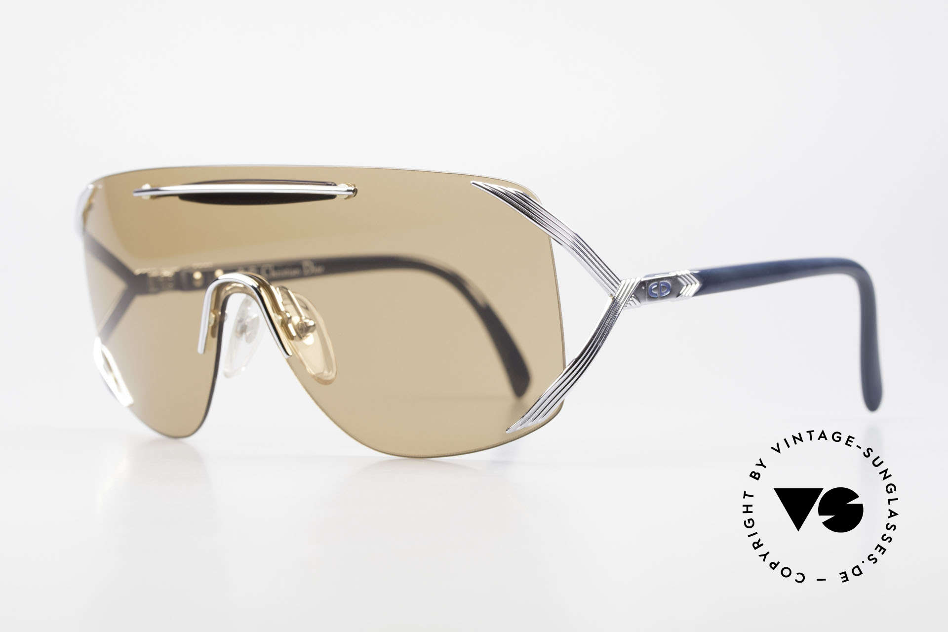 Christian Dior 2434 Panorama View Sunglasses 80s, brilliant and very rare vintage model by Chr. DIOR, Made for Women