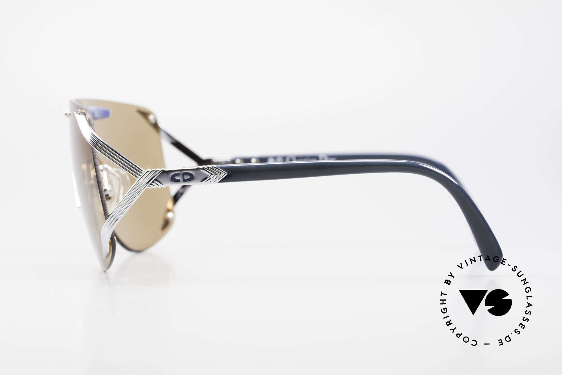 Christian Dior 2434 Panorama View Sunglasses 80s, unworn (like all our Chr. DIOR designer sunglasses), Made for Women
