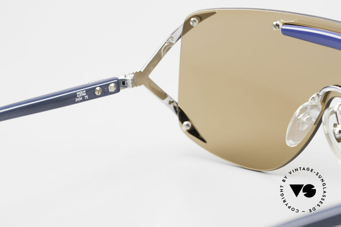 Christian Dior 2434 Panorama View Sunglasses 80s, NO RETRO fashion, but a unique 30 years old original, Made for Women