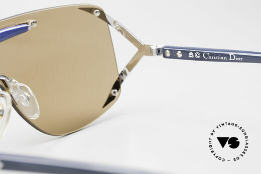 Christian Dior 2434 Panorama View Sunglasses 80s, Rihanna wore this model too (check photos on Google), Made for Women