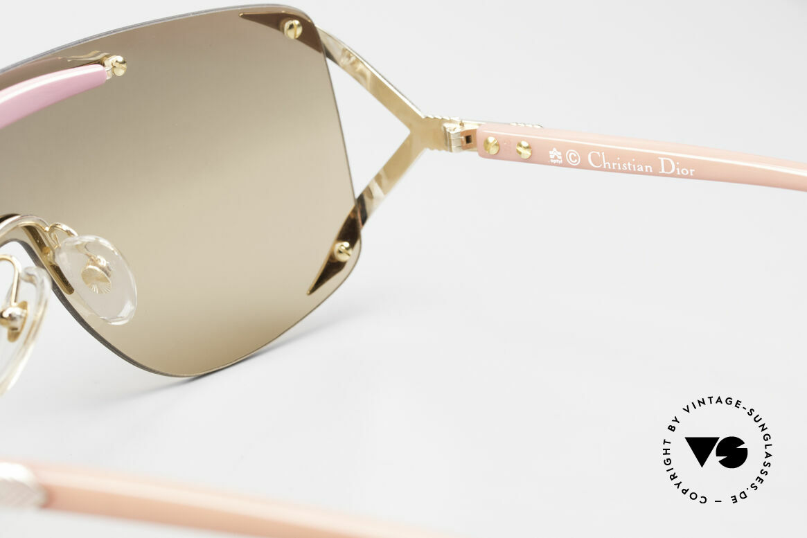 Christian Dior 2434 Light Pink Mirrored Shades 80s, Size: medium, Made for Women