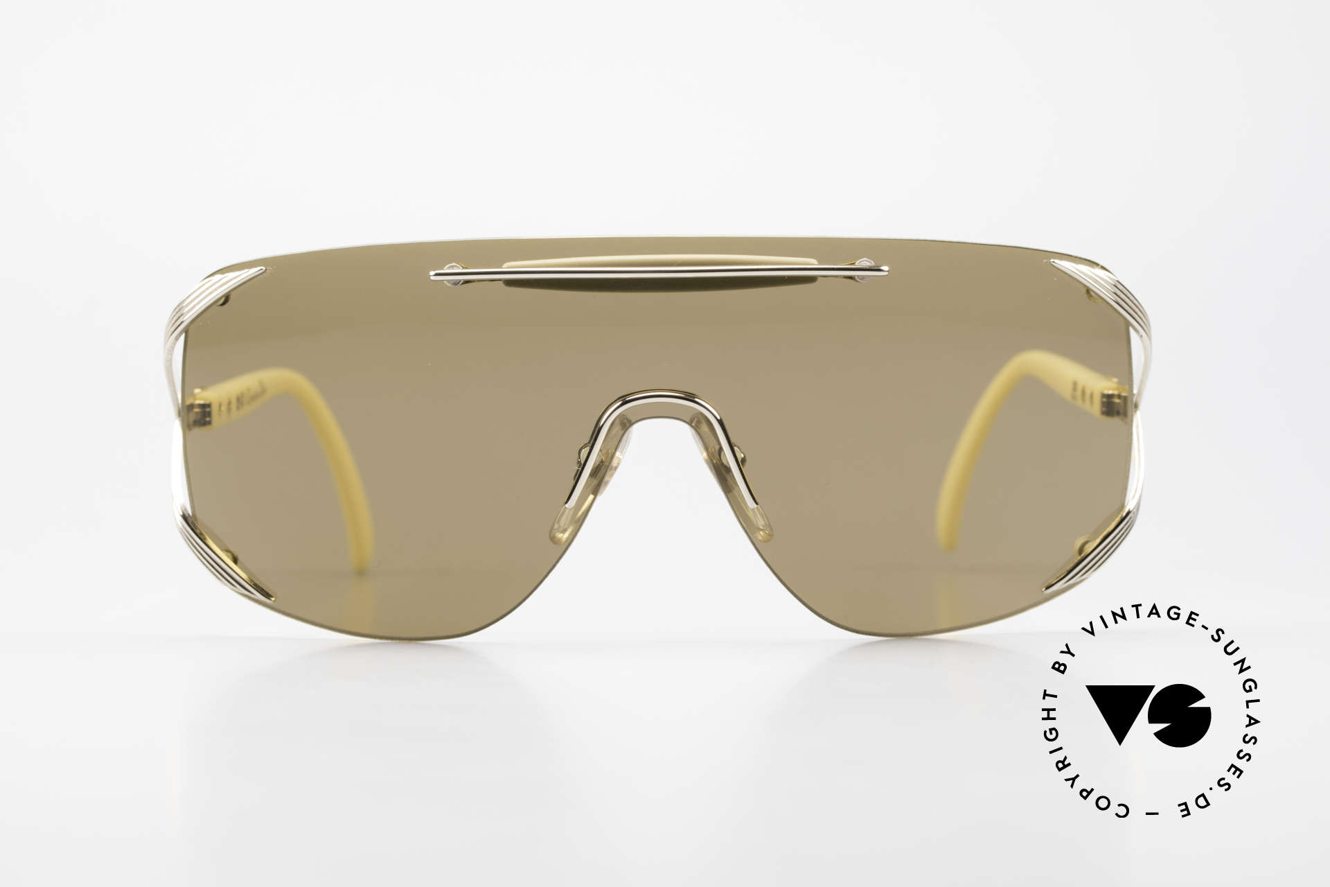 """Christian Dior 2434 Designer Shades Shield Mask, single lens (""""shield design"""") for a PANORAMA view, Made for Women"""