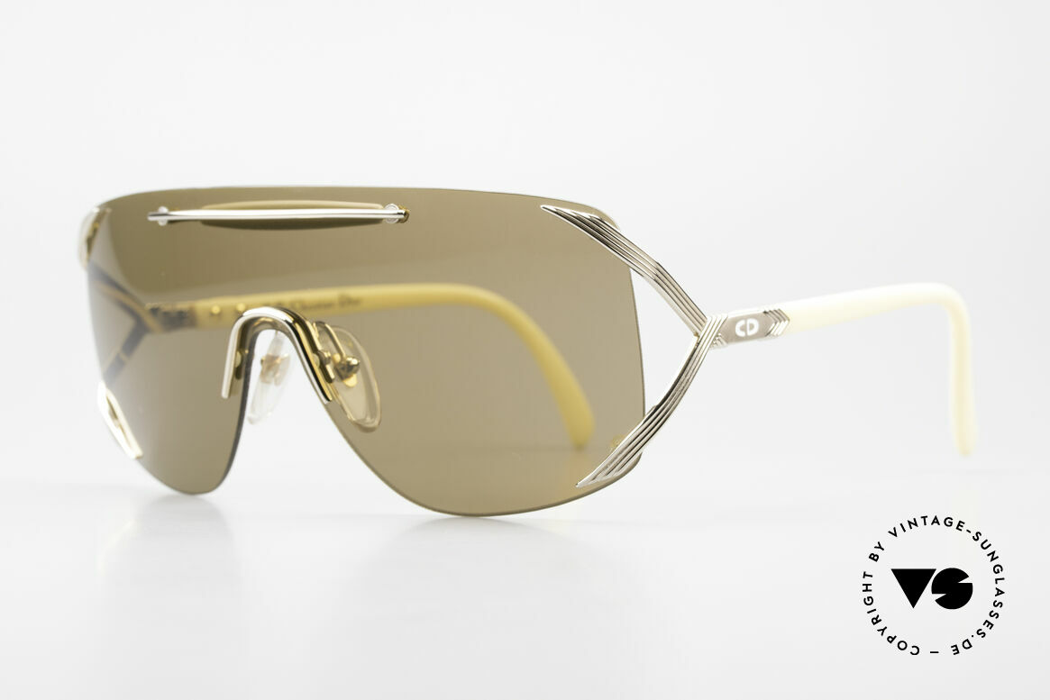 """Christian Dior 2434 Designer Shades Shield Mask, sometimes, this eyewear design is also called """"mask"""", Made for Women"""