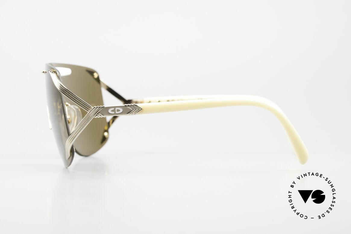 Christian Dior 2434 Designer Shades Shield Mask, NO RETRO fashion, but a unique 30 years old original, Made for Women