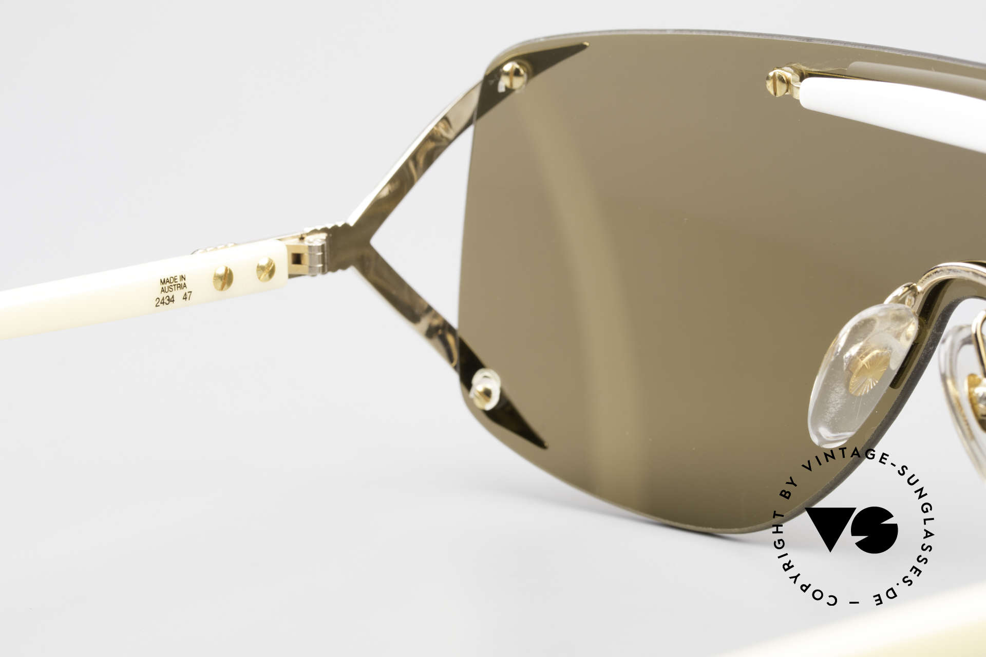 Christian Dior 2434 Designer Shades Shield Mask, Size: medium, Made for Women