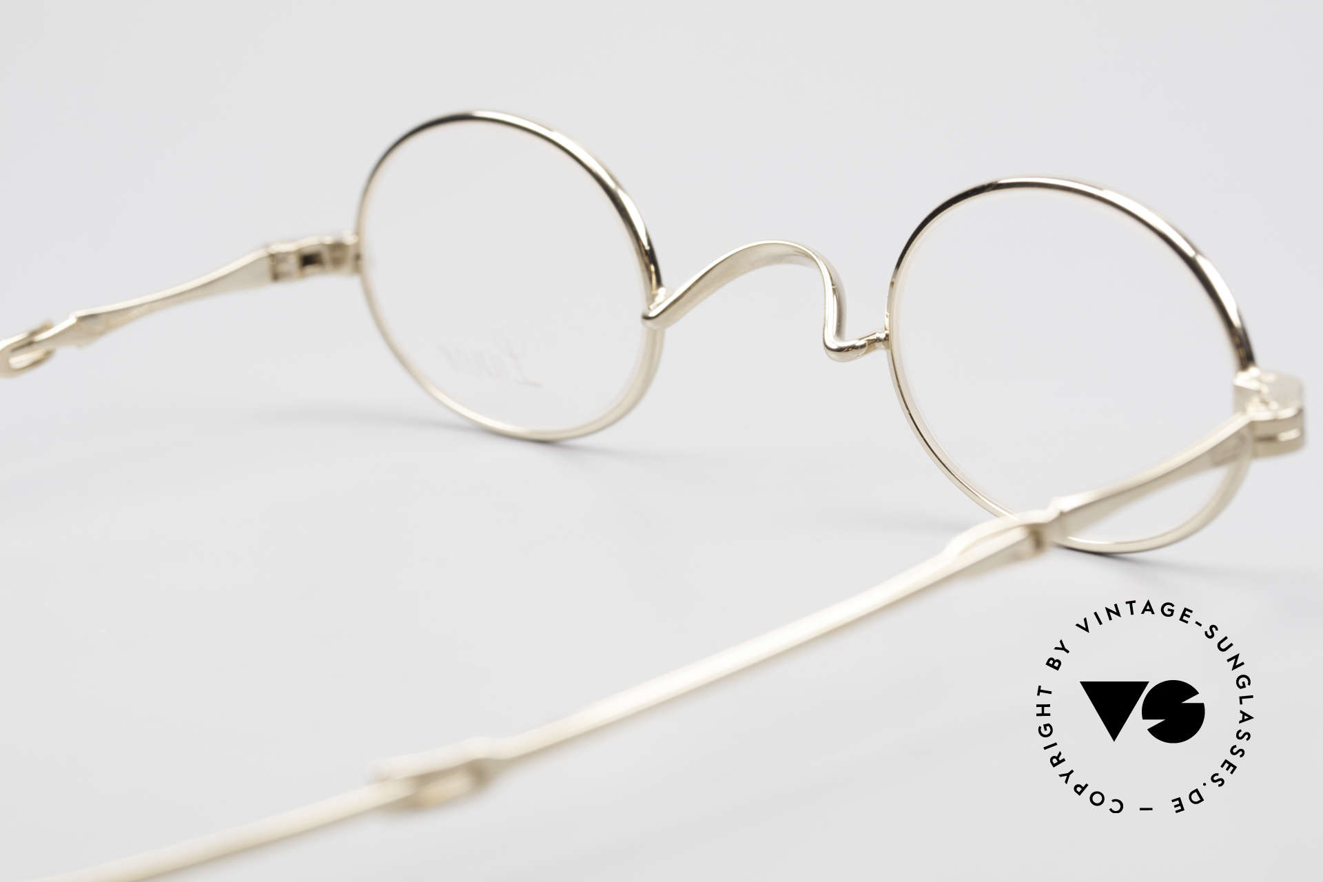 Lunor I 04 Telescopic XS Oval Glasses Slide Temples, Size: extra small, Made for Men and Women
