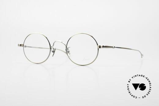 Lunor V 110 Round Lunor Glasses Vintage Details
