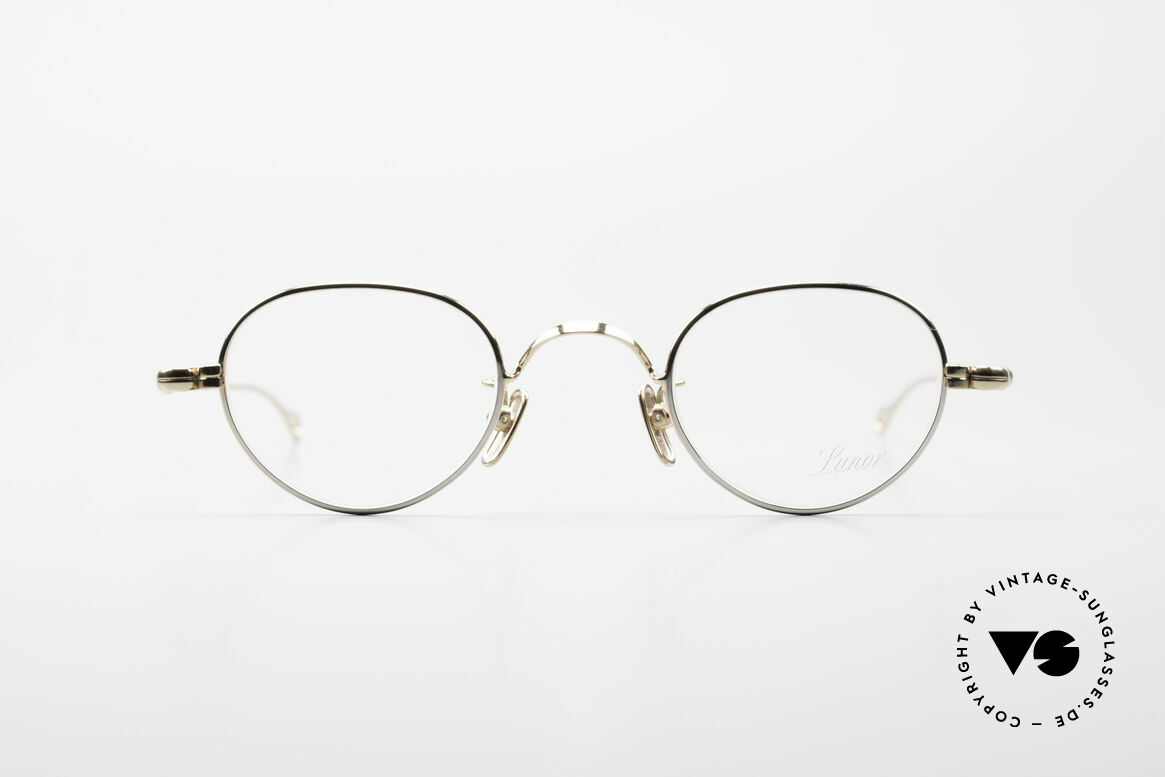 Lunor V 103 Timeless Lunor Frame Bicolor, without ostentatious logos (but in a timeless elegance), Made for Men and Women