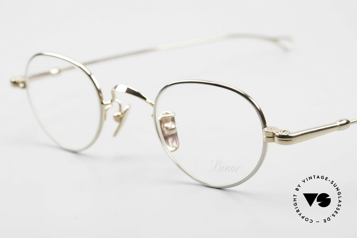 Lunor V 103 Timeless Lunor Frame Bicolor, from the 2011's collection, but in a well-known quality, Made for Men and Women