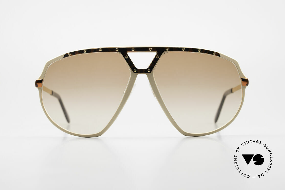 Alpina M1/8 80's West Germany Sunglasses, also handmade; but produced a bit later (1989/90), Made for Men