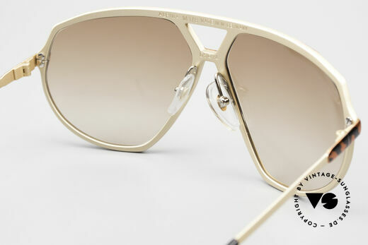 Alpina M1/8 80's West Germany Sunglasses, the metal frame could be glazed with prescriptions, Made for Men