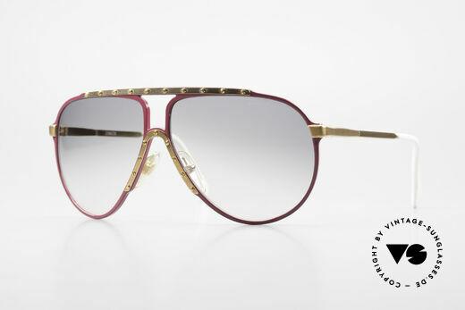 Alpina M1 Iconic Vintage Sunglasses 80s Details