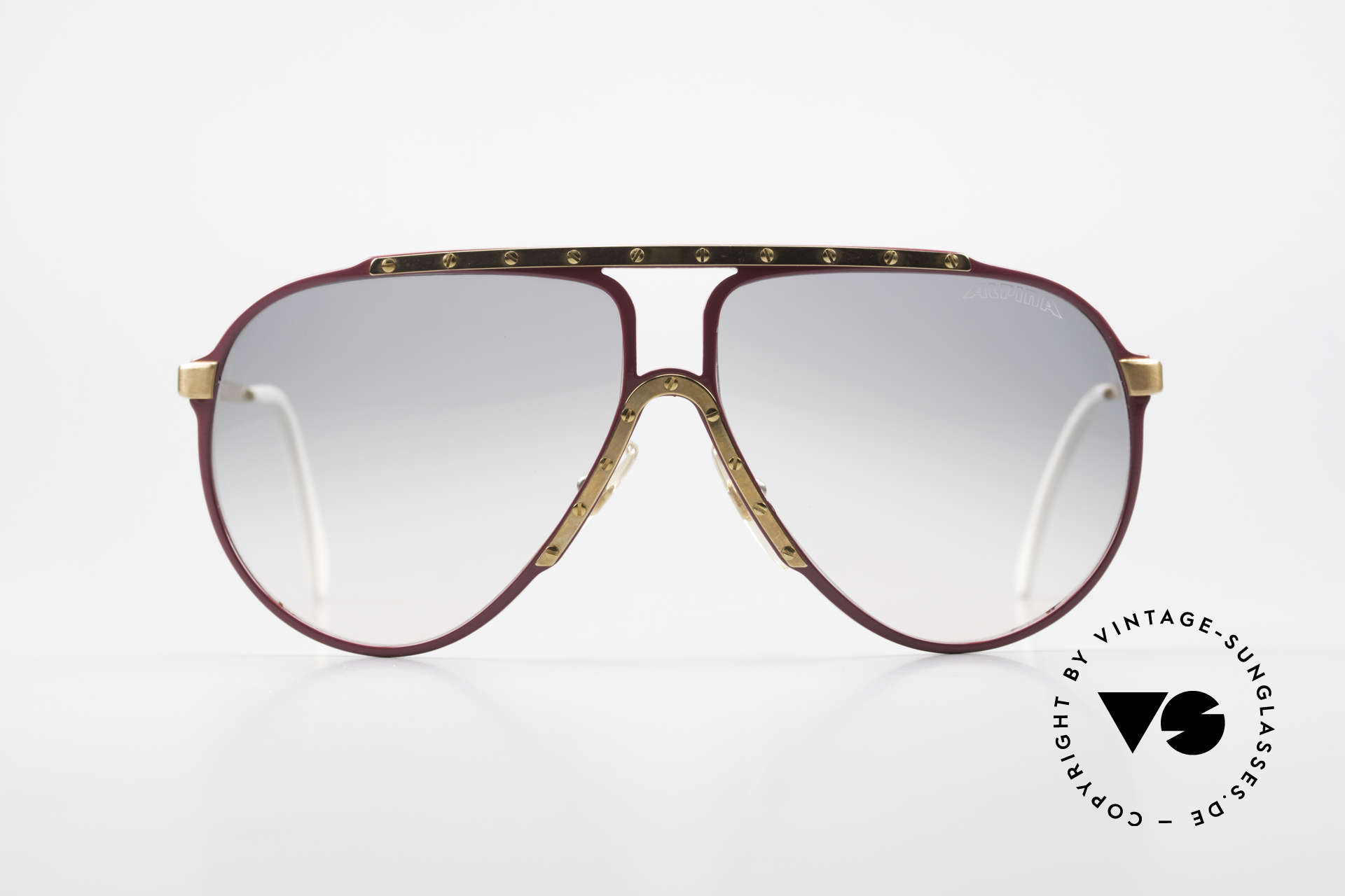 Alpina M1 Iconic Vintage Sunglasses 80s, iconic vintage 80's sunglasses from West Germany, Made for Women