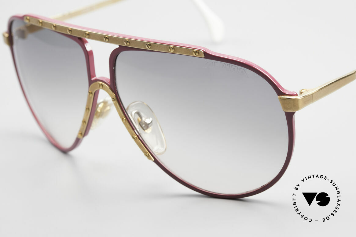 Alpina M1 Iconic Vintage Sunglasses 80s, unworn; but (storage) scratches on the paintwork!, Made for Women