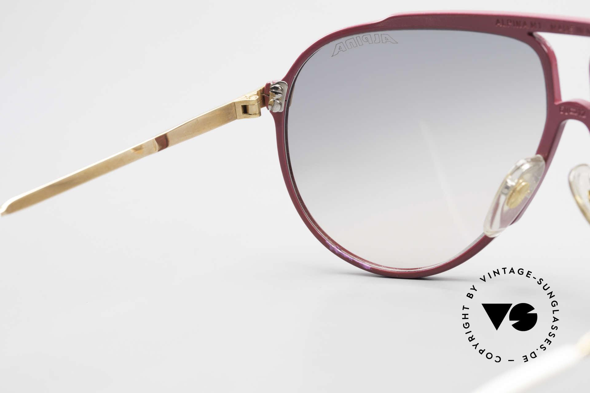 Alpina M1 Iconic Vintage Sunglasses 80s, Size: medium, Made for Women