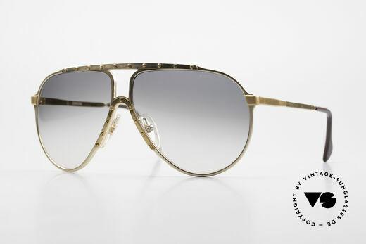 Alpina M1 80s Iconic Vintage Sunglasses Details
