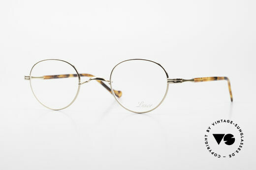 Lunor II A 22 Round Lunor Specs Gold Plated Details