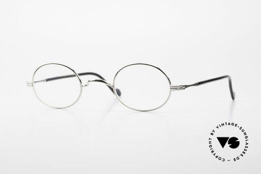 Lunor II A 10 Oval Vintage Frame Platinum Details