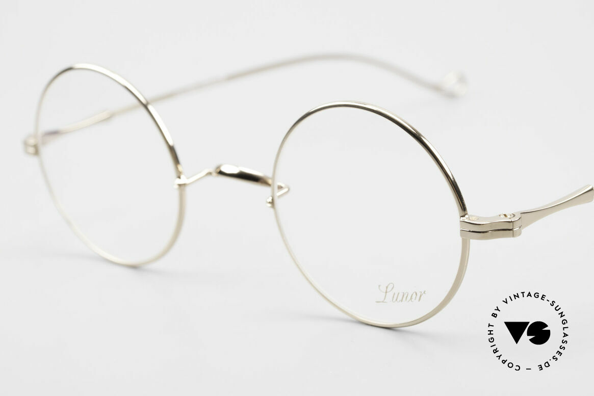 Lunor II 23 Round Glasses Special Edition, noble, classy, timeless = a genuine LUNOR ORIGINAL, Made for Men and Women
