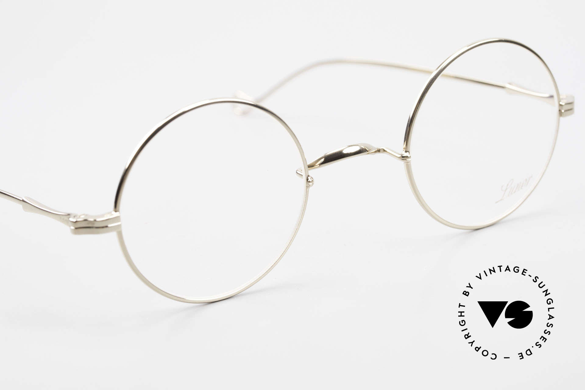 Lunor II 23 Round Glasses Special Edition, a timeless, unworn RARITY for all lovers of quality, Made for Men and Women
