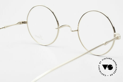 Lunor II 23 Round Glasses Special Edition, high-end frame can be glazed with lenses of any kind, Made for Men and Women