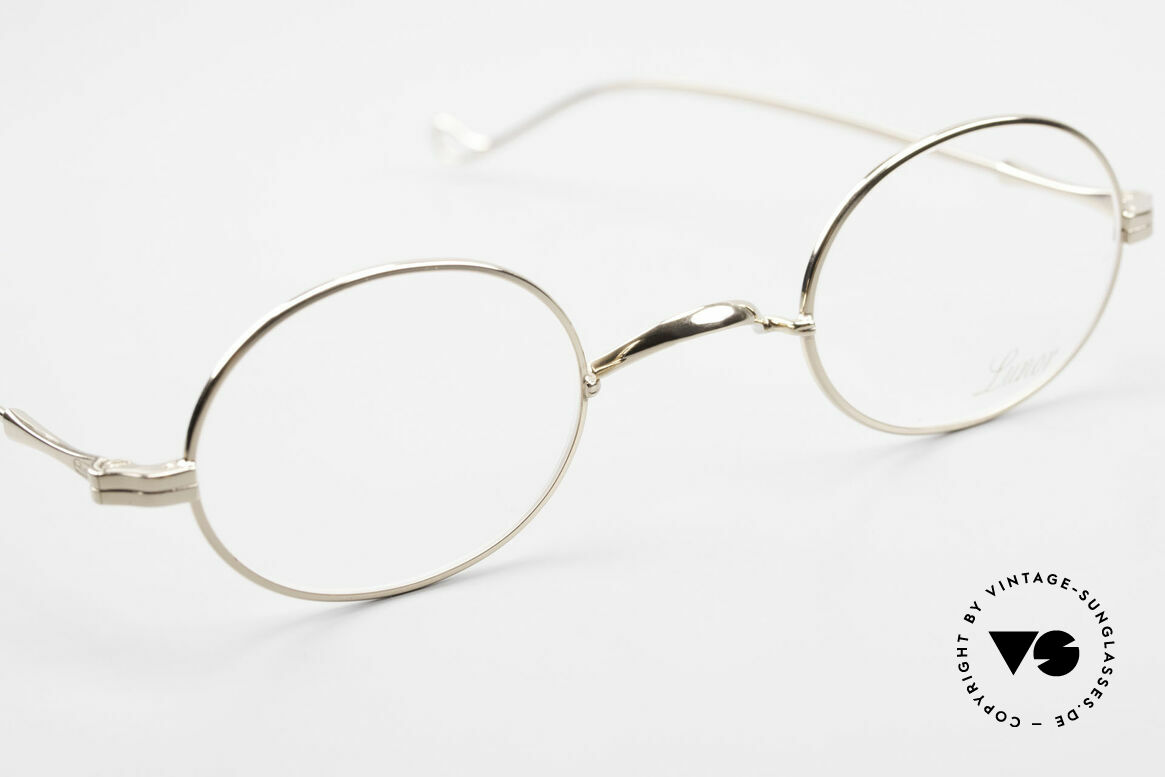 Lunor II 10 Oval Lunor Frame Gold Plated, unworn single item (for all lovers of quality), true rarity, Made for Men and Women