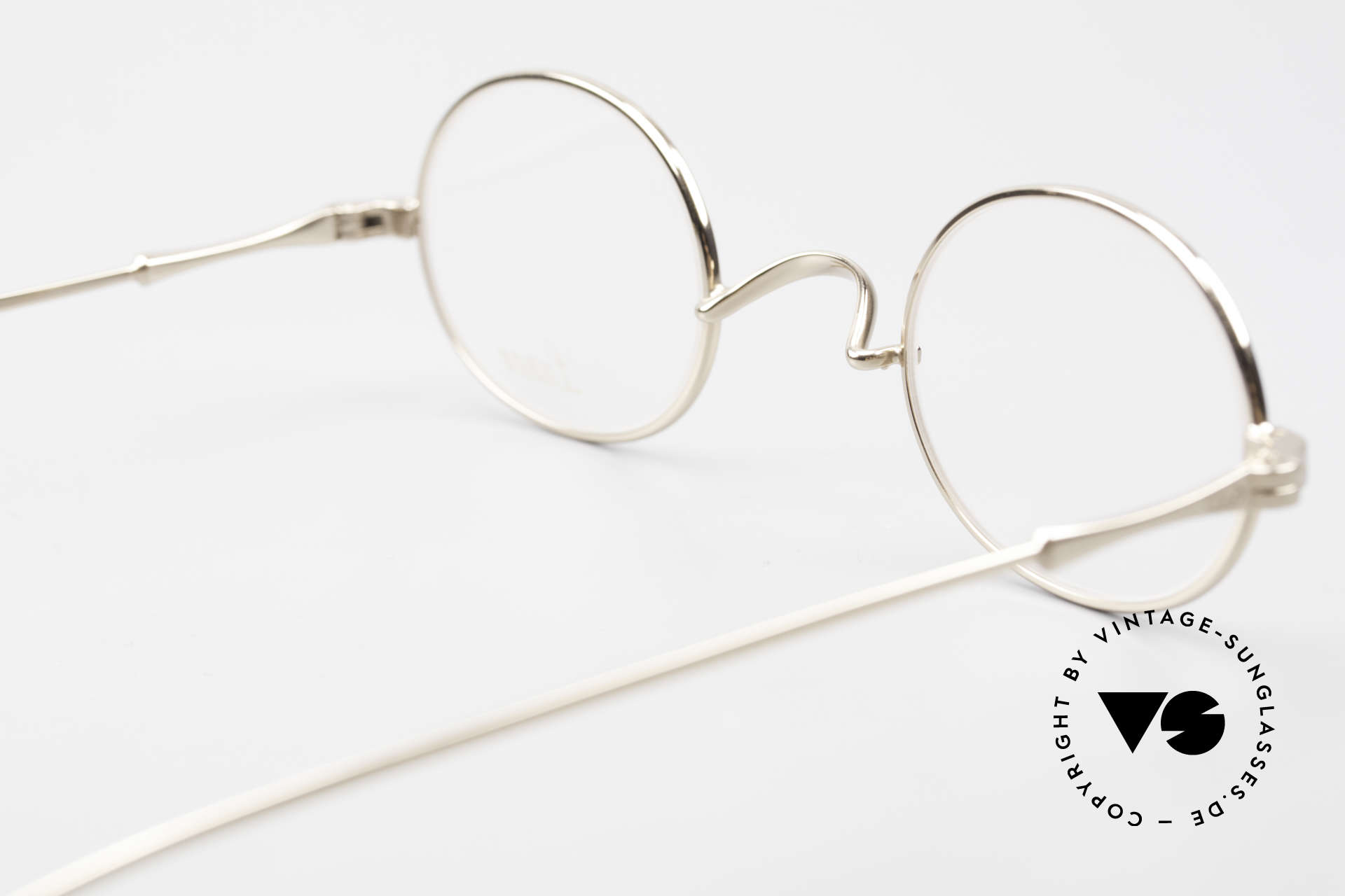 Lunor II 10 Oval Lunor Frame Gold Plated, Size: small, Made for Men and Women