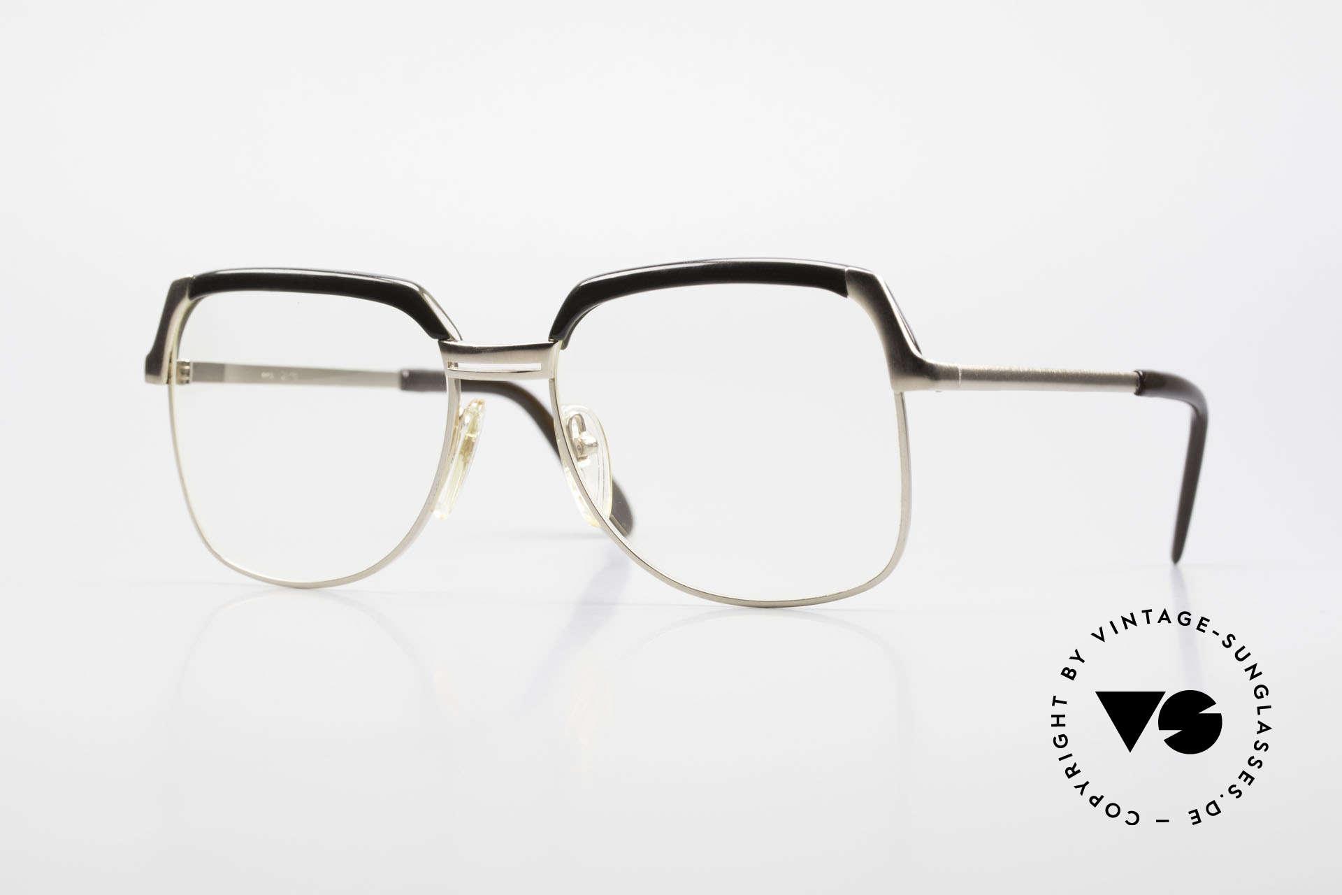 Bausch & Lomb 418 Gold Filled 80's Combi Frame, rare 1980's designer eyeglasses by BAUSCH & LOMB, Made for Men