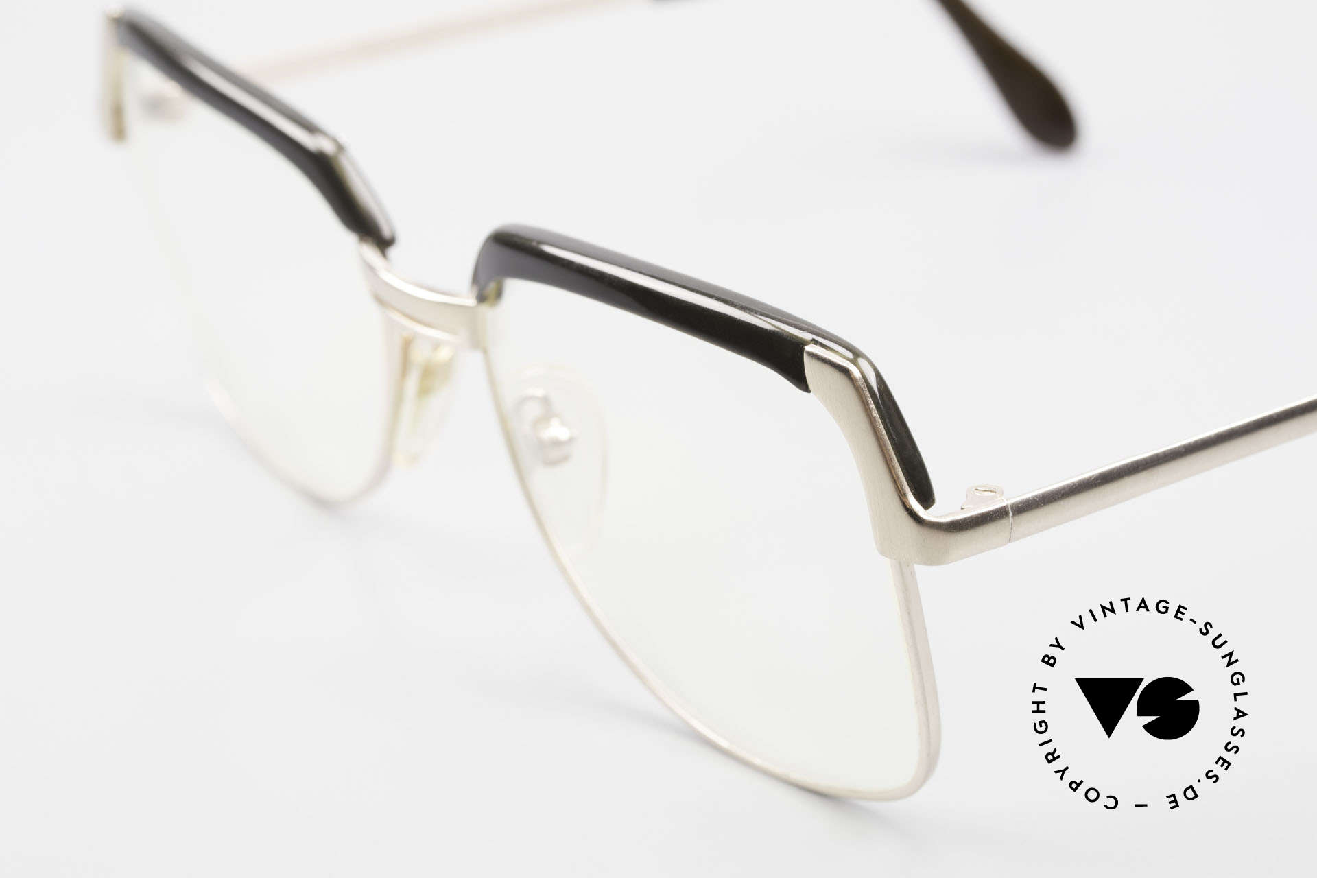 Bausch & Lomb 418 Gold Filled 80's Combi Frame, gold doublé in 1/20 10kt. proportion; high-end quality, Made for Men
