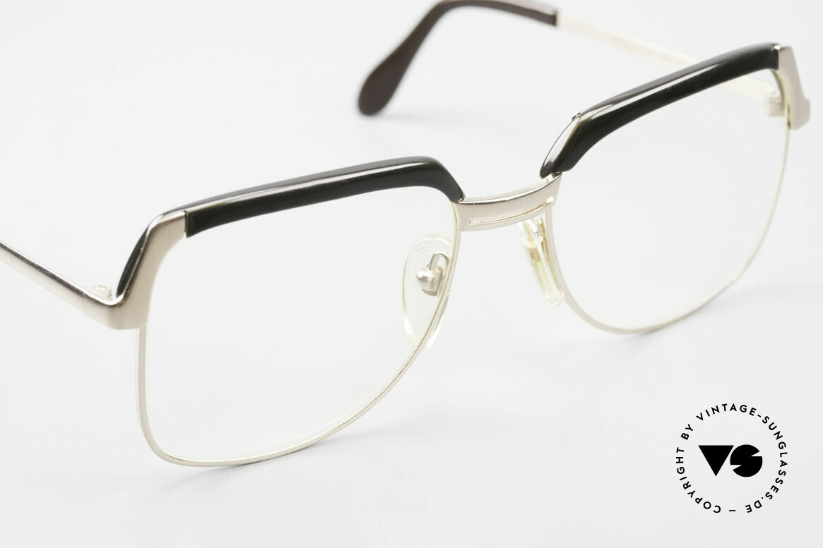 Bausch & Lomb 418 Gold Filled 80's Combi Frame, 1/20 of the frame is 10k gold, precious and very rare, Made for Men