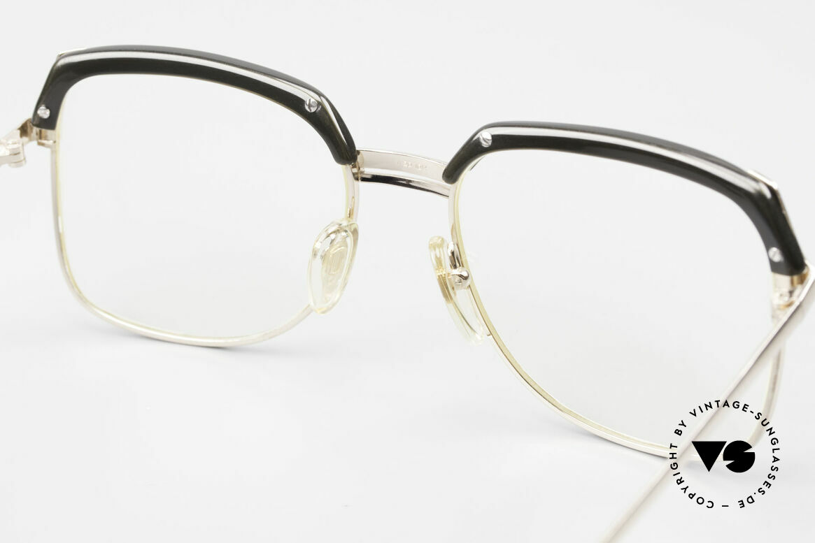 Bausch & Lomb 418 Gold Filled 80's Combi Frame, Size: large, Made for Men