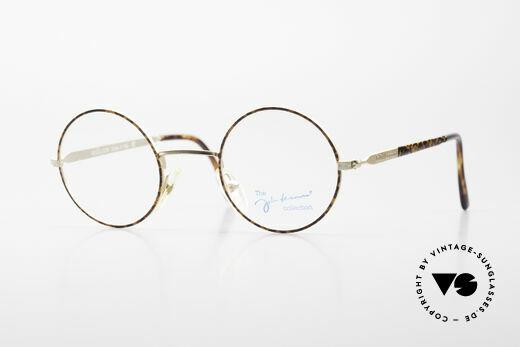 John Lennon - Revolution Vintage Glasses Small Round Details