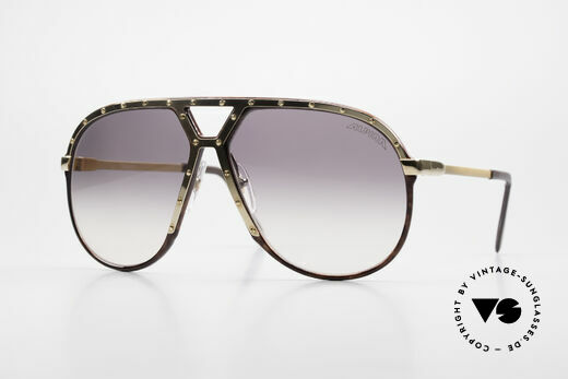 Alpina M1 Ultra Rare Aviator Sunglasses Details