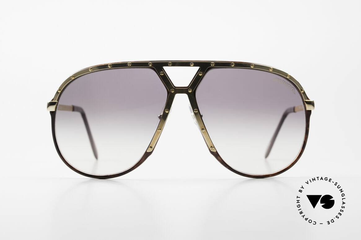 Alpina M1 Ultra Rare Aviator Sunglasses, M1 = the most wanted vintage model by ALPINA, Made for Men