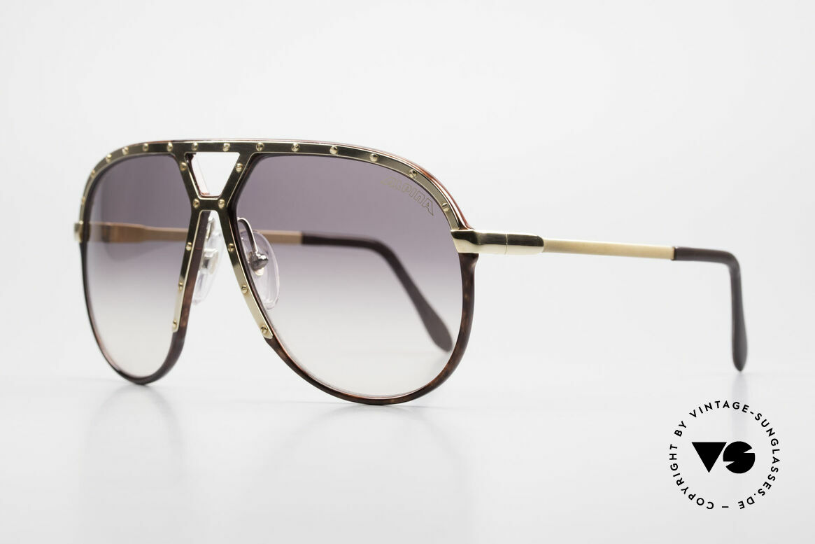 Alpina M1 Ultra Rare Aviator Sunglasses, untouched pair with original lenses & hard case, Made for Men