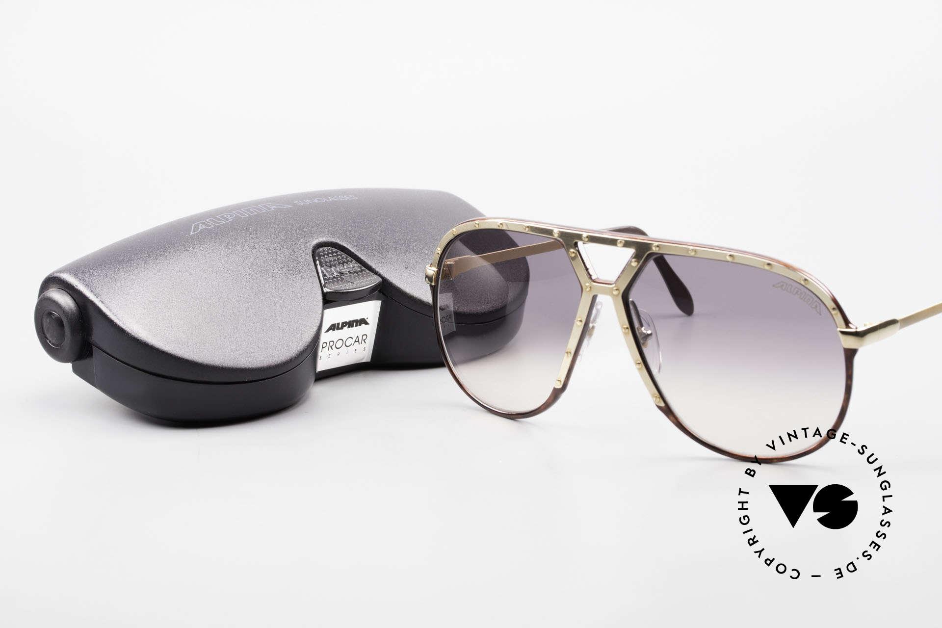 Alpina M1 Ultra Rare Aviator Sunglasses, Size: large, Made for Men