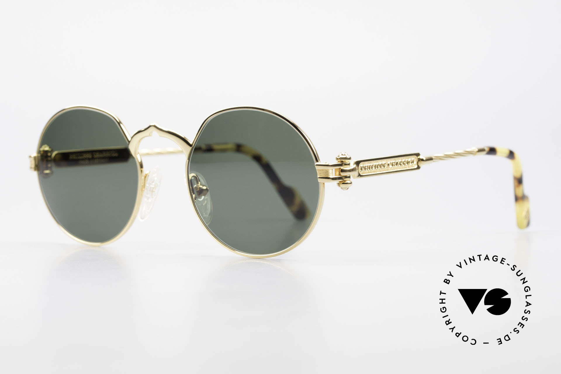 """Philippe Charriol 92CPT Insider Luxury Sunglasses 80's, in 1983, P. Charriol founded his own luxury """"empire"""", Made for Men"""