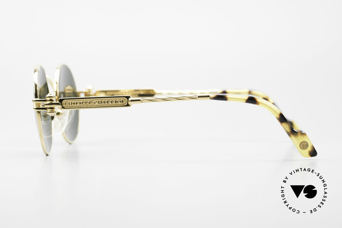 Philippe Charriol 92CPT Insider Luxury Sunglasses 80's, e.g. the Charriol sunglasses are double GOLD-plated, Made for Men