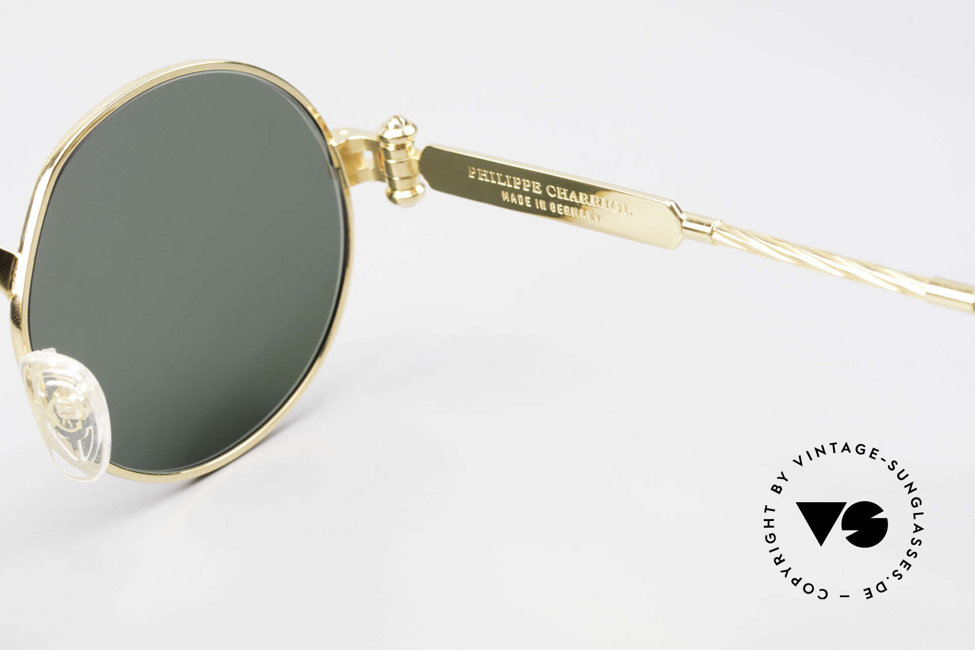 Philippe Charriol 92CPT Insider Luxury Sunglasses 80's, Size: medium, Made for Men