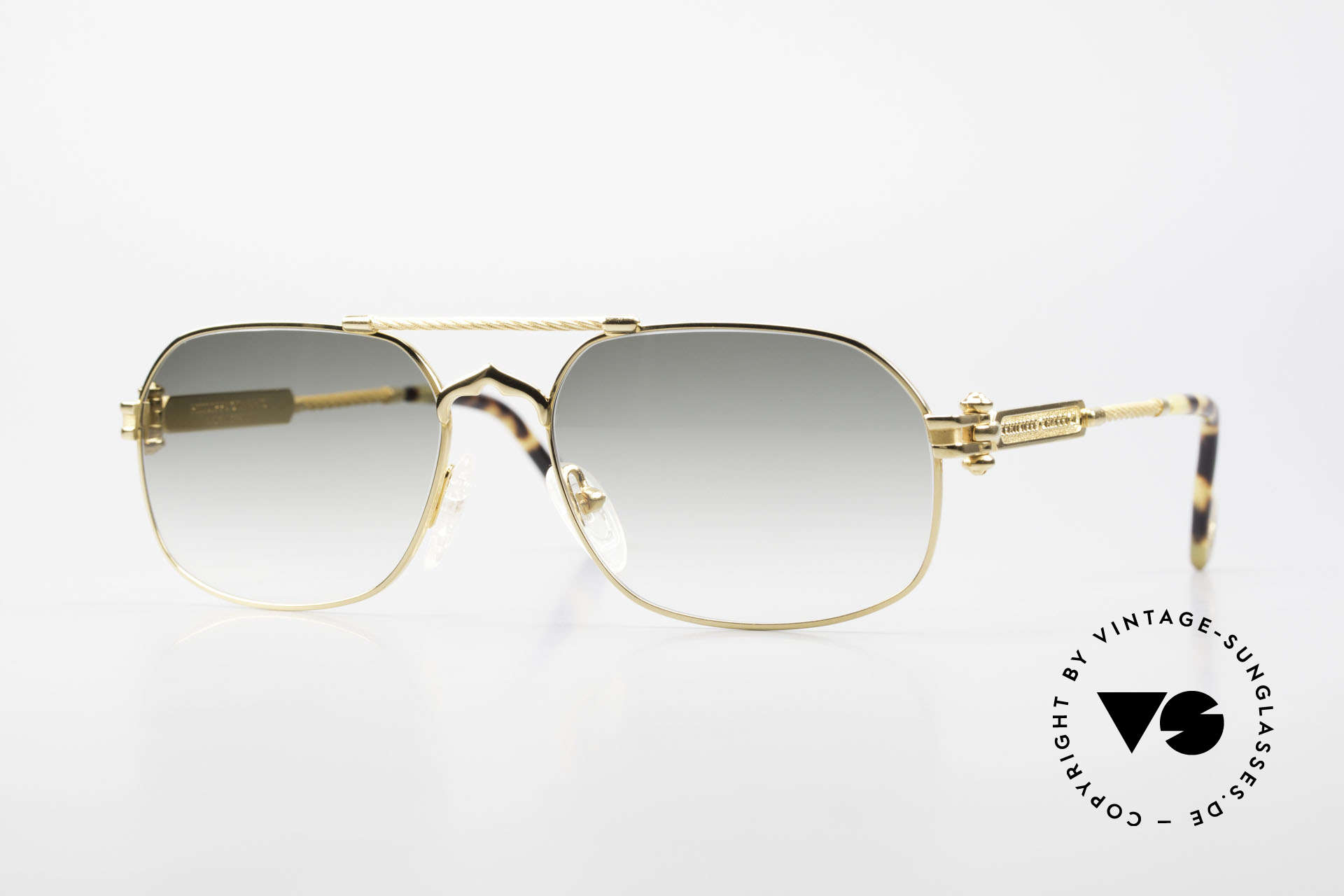 Philippe Charriol 90PP Insider 80's Luxury Sunglasses, square 80's insider sunglasses for all lovers of luxury, Made for Men