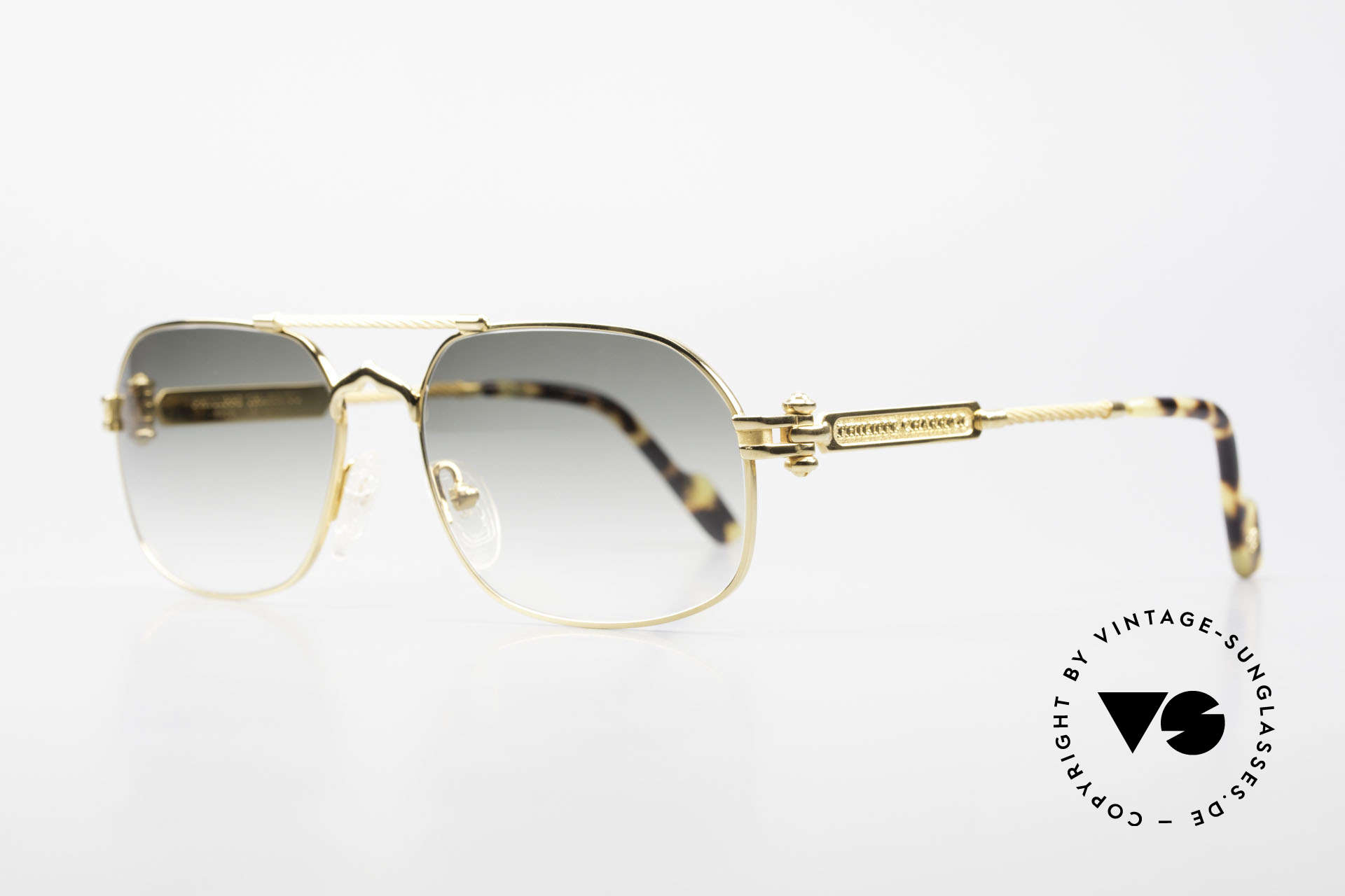 """Philippe Charriol 90PP Insider 80's Luxury Sunglasses, in 1983, P. Charriol founded his own luxury """"empire"""", Made for Men"""
