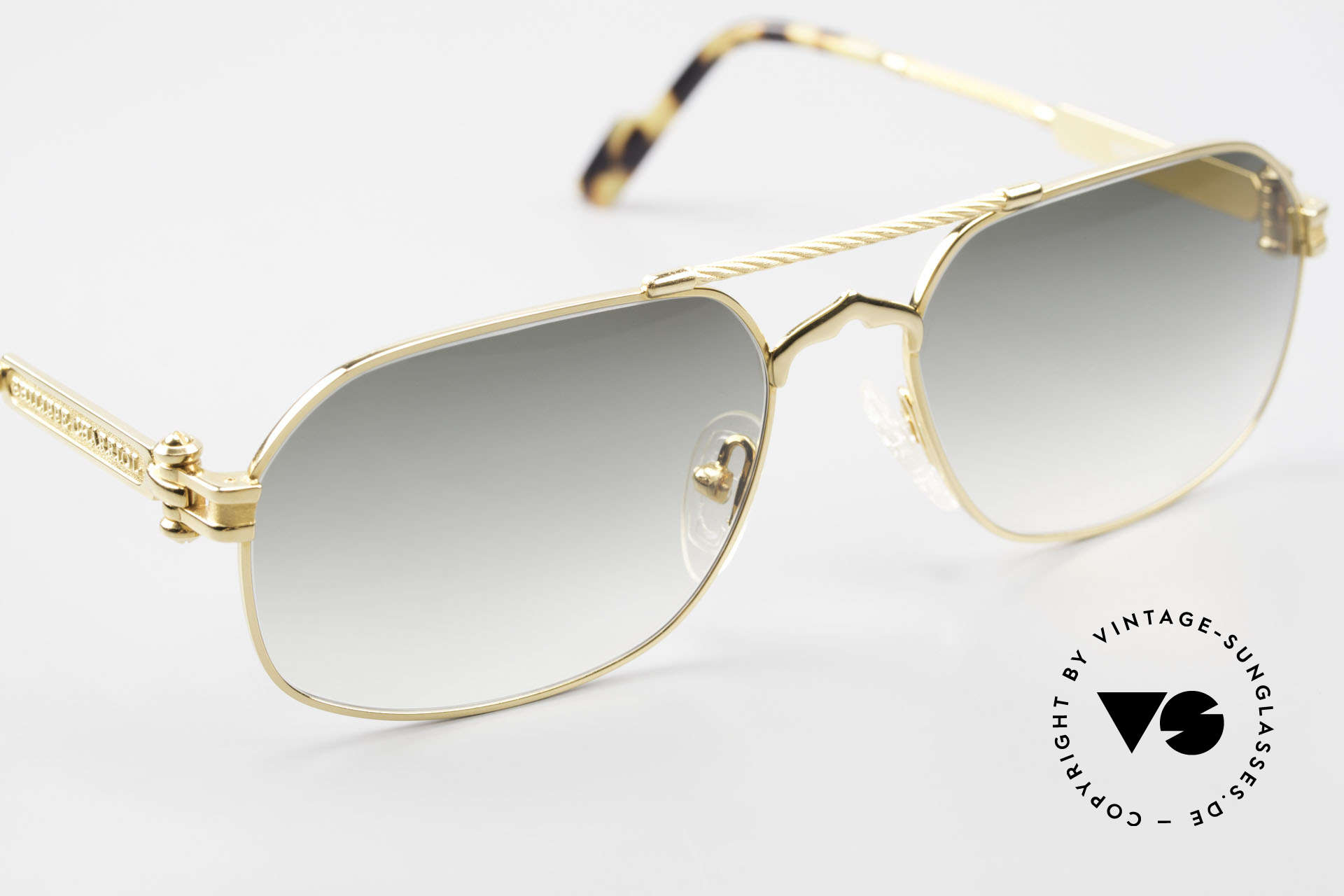 Philippe Charriol 90PP Insider 80's Luxury Sunglasses, this unworn rarity comes with the original P.C. box, Made for Men