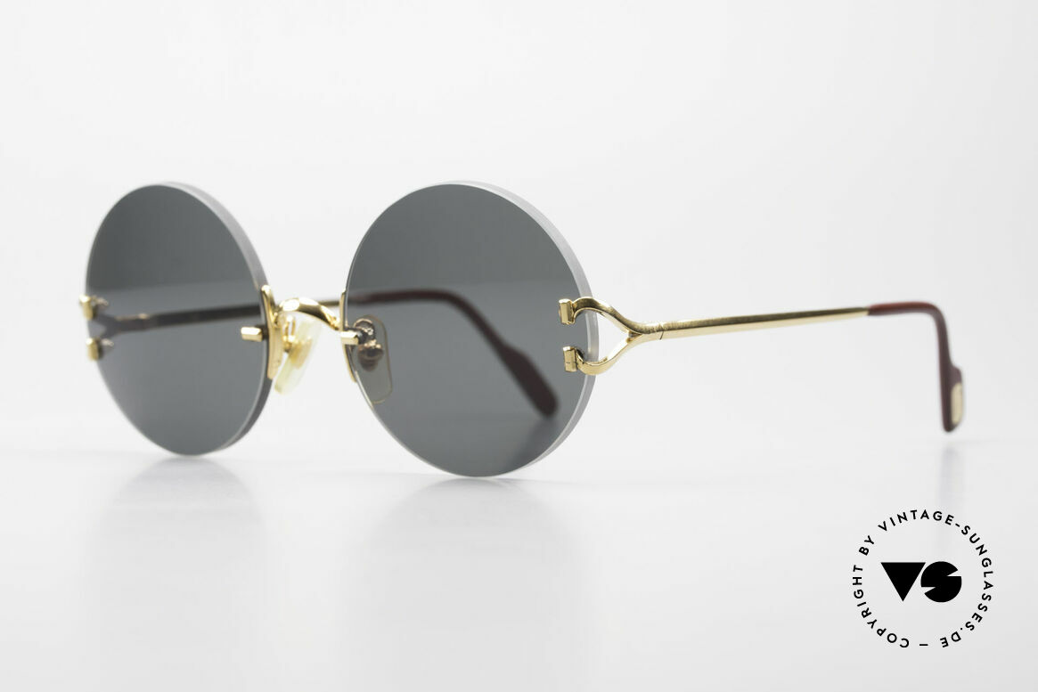 Cartier Madison Small Round Luxury Sunglasses, 2nd hand model, but in great condition + orig. BOX, Made for Men and Women