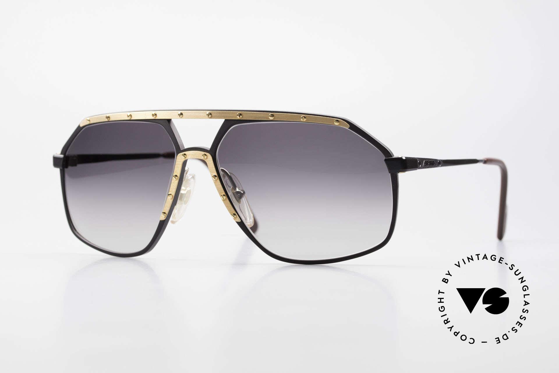 Alpina M6 No Retro Shades True Vintage, old Alpina model M6 vintage designer sunglasses, Made for Men