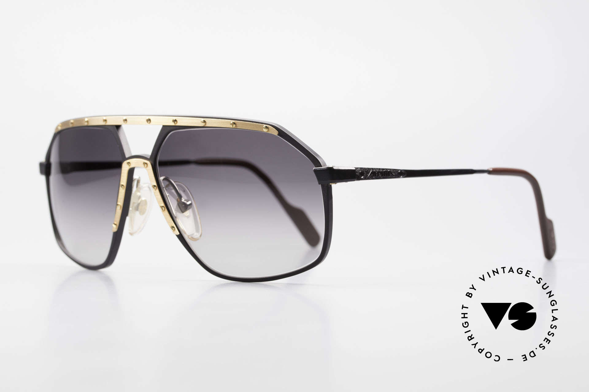 Alpina M6 No Retro Shades True Vintage, famous for the 'W.Germany' frame and the screws, Made for Men