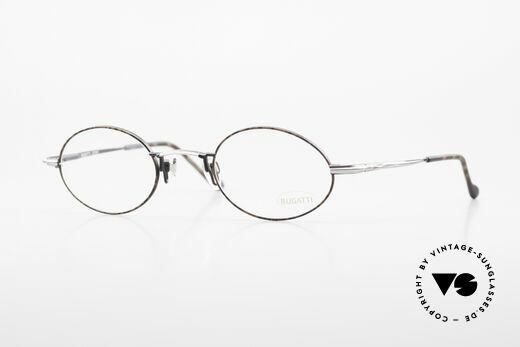 Bugatti 23191 Oval Luxury Eyeglass-Frame Details