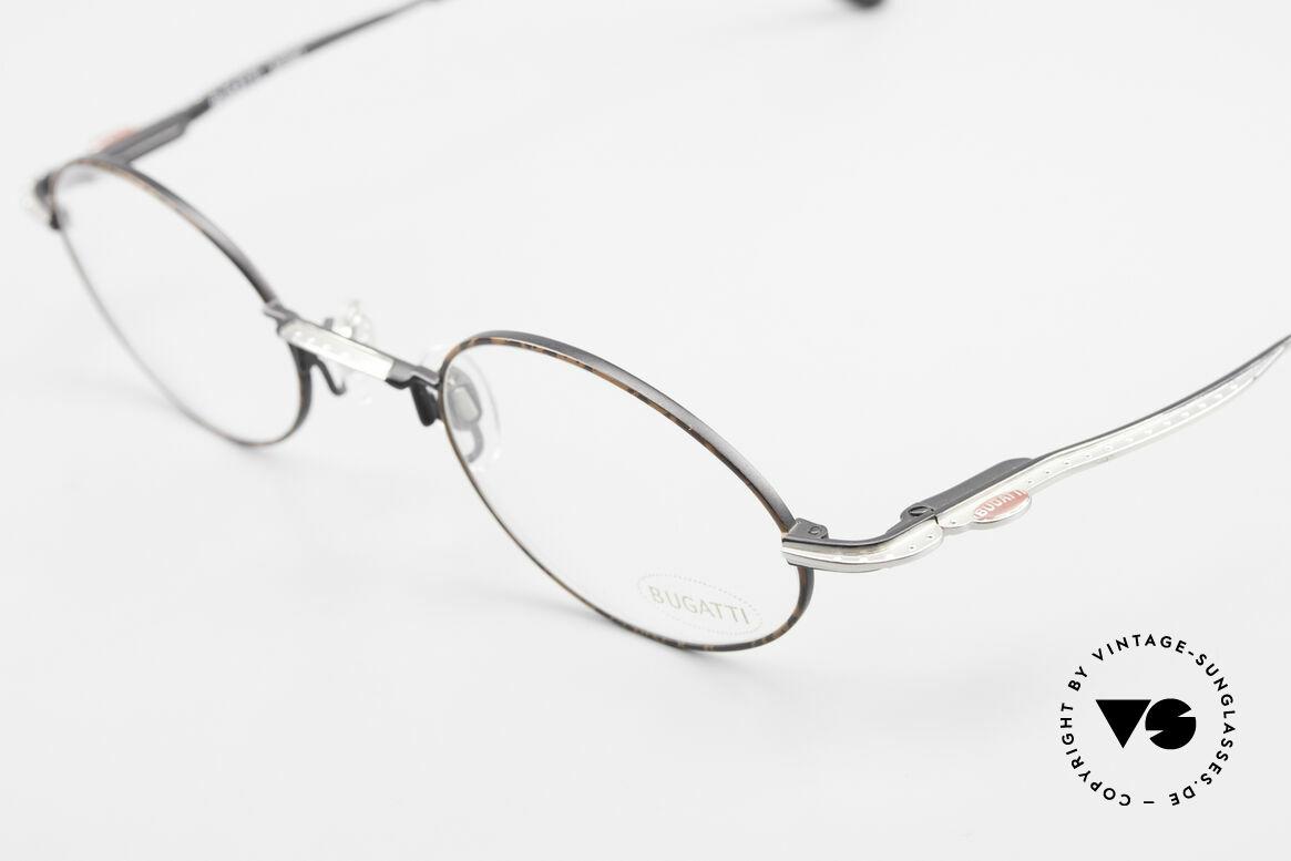 Bugatti 23191 Oval Luxury Eyeglass-Frame, unworn (like all our rare vintage Bugatti eyeglasses), Made for Men