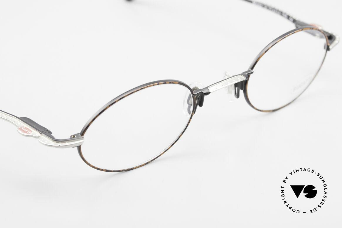 Bugatti 23191 Oval Luxury Eyeglass-Frame, NO RETRO frame, but a precious old original; vertu!, Made for Men