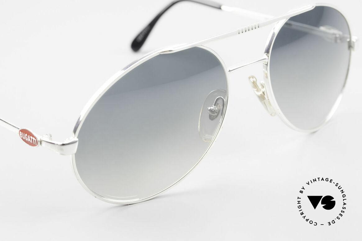 Bugatti 65996 Costly Mirrored Sun Lenses, unworn; like all our vintage Bugatti sunglasses, Made for Men